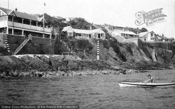 Photo of Abersoch, Yacht Club And Headland 1936