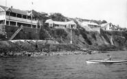 Abersoch, Yacht Club And Headland 1936