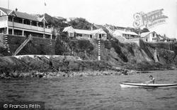 Abersoch, Yacht Club And Headland 1936
