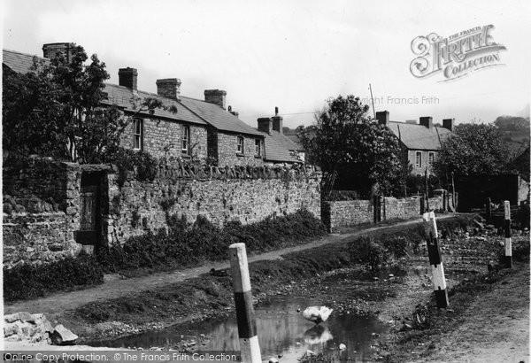 Aberthin, Village 1949