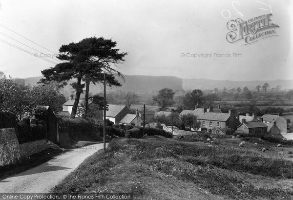 Photo of Aberthin, Village 1949