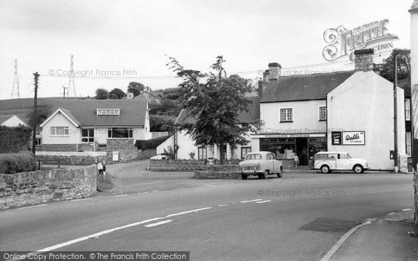 Photo of Aberthin, Village c.1965