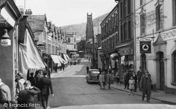 Abertillery, Church Street c.1955