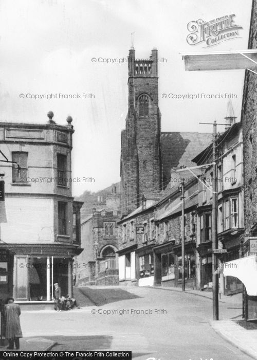 Photo of Abertillery, Church Street c.1955