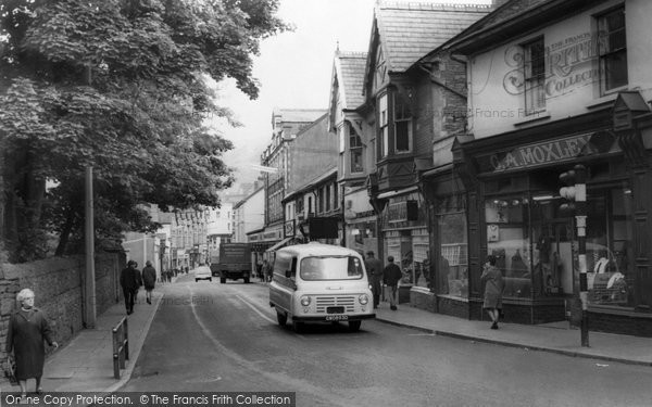 Abertillery, Church Street c1965