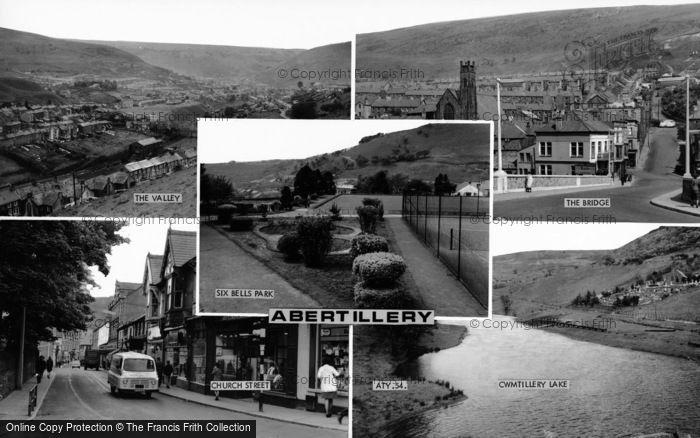 Photo of Abertillery, Composite c.1965