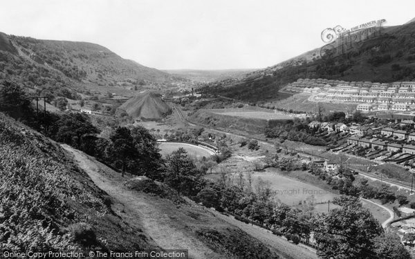 Photo of Abertillery, General View c.1955