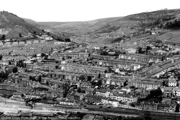 Photo of Abertillery, Penybont And Cwmtillery 1955