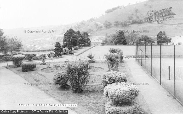 Photo of Abertillery, Six Bells Park c.1960