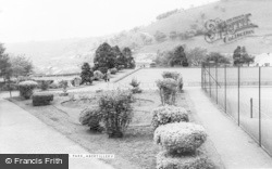Abertillery, Six Bells Park c.1960