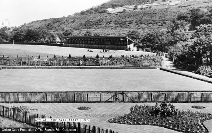 Photo of Abertillery, The Park c.1955