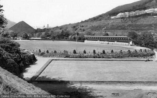 Photo of Abertillery, The Park c.1955