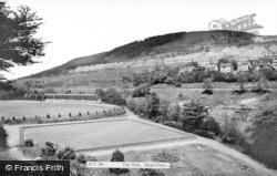 Abertillery, The Park c.1955