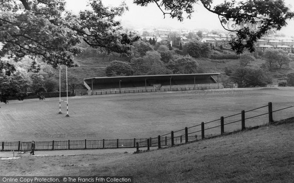 Photo of Abertillery, The Park c.1965