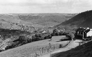 Abertillery, view from Blainau c1955
