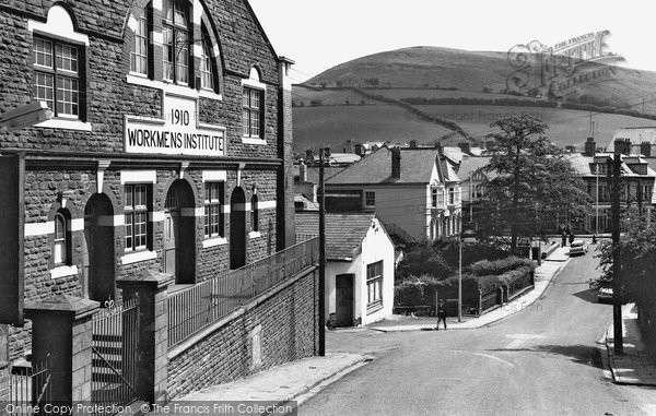 Photo of Abertridwr, The Square c.1965