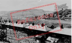 Abertridwr, Windsor Colliery From Tan Y Bryn c.1965