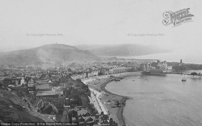 Photo of Aberystwyth, 1899