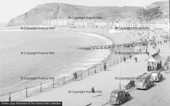Photo of Aberystwyth, Bay And Constitution Hill 1949