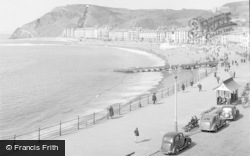 Aberystwyth, Bay And Constitution Hill 1949