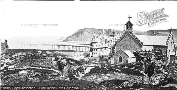 Photo of Aberystwyth, c.1885