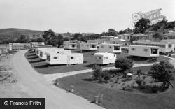 Aberystwyth, Caravan Park 1969