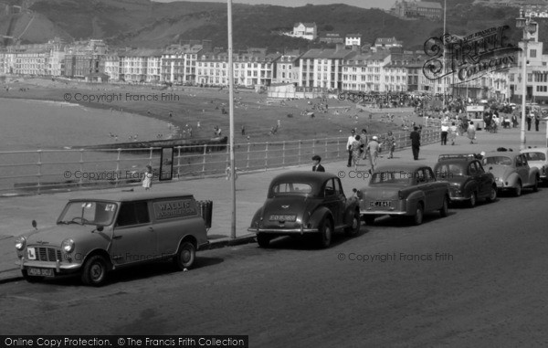 Photo of Aberystwyth, Cars On The Promenade 1964