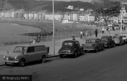 Aberystwyth, Cars On The Promenade 1964