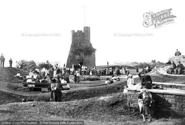 Photo of Aberystwyth, Castle 1903