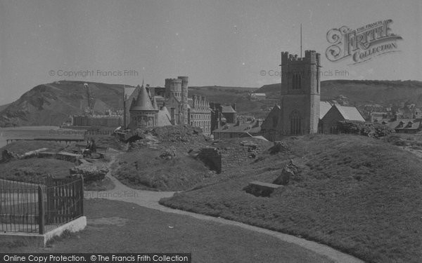 Photo of Aberystwyth, Castle And Grounds 1949
