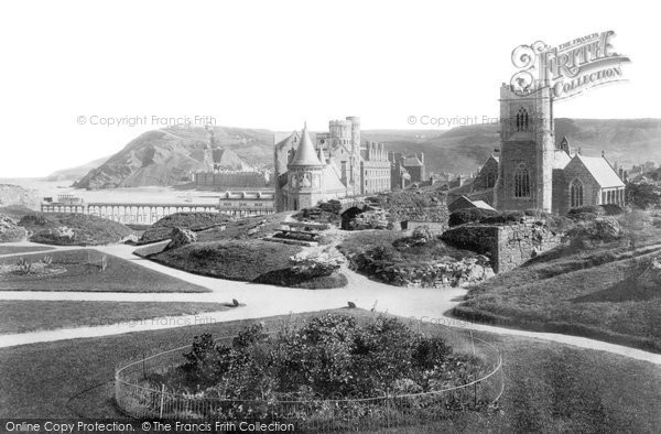 Photo of Aberystwyth, Castle Grounds 1906