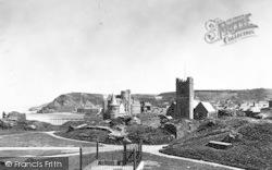 Aberystwyth, Castle Grounds c.1950