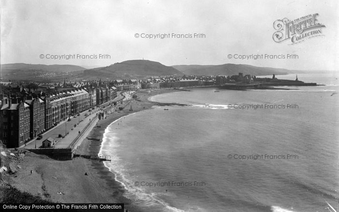 Photo of Aberystwyth, Coast From Constitution Hill 1949