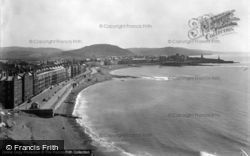 Aberystwyth, Coast From Constitution Hill 1949