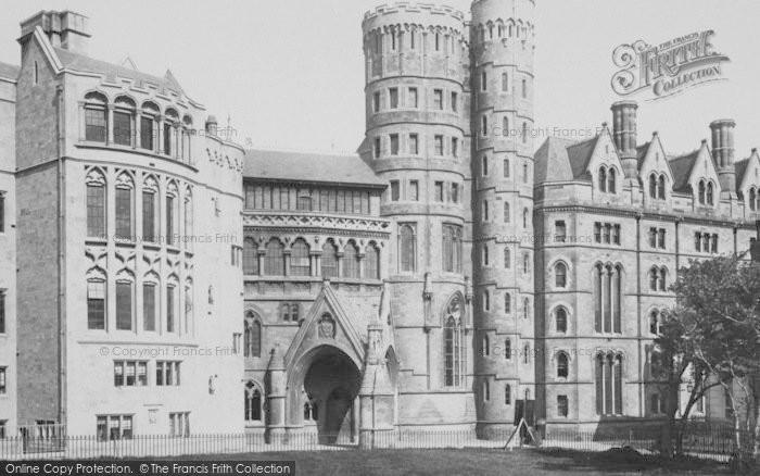 Photo of Aberystwyth, College 1899