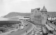 Aberystwyth, College and Seafront 1964