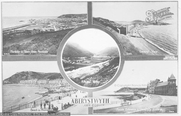 Photo of Aberystwyth, Composite c.1930