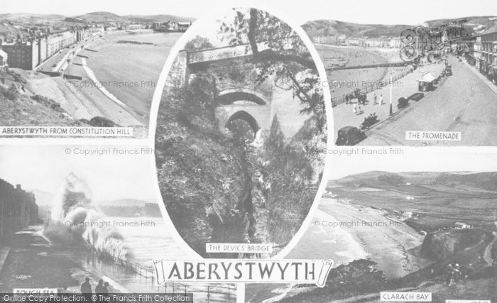 Photo of Aberystwyth, Composite c.1950