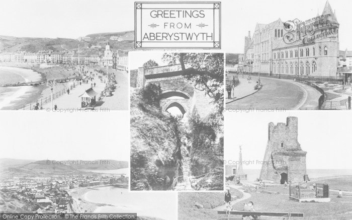 Photo of Aberystwyth, Composite c.1955