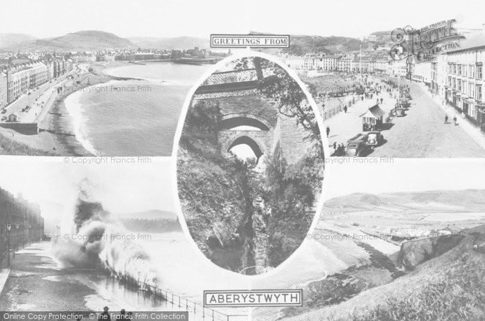 Photo of Aberystwyth, Composite c.1955