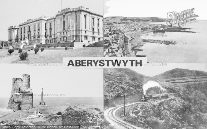 Photo of Aberystwyth, Composite c.1960
