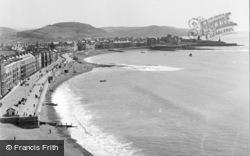 Constitution Hill View 1949, Aberystwyth
