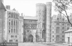 Aberystwyth, Entrance, University College c.1935