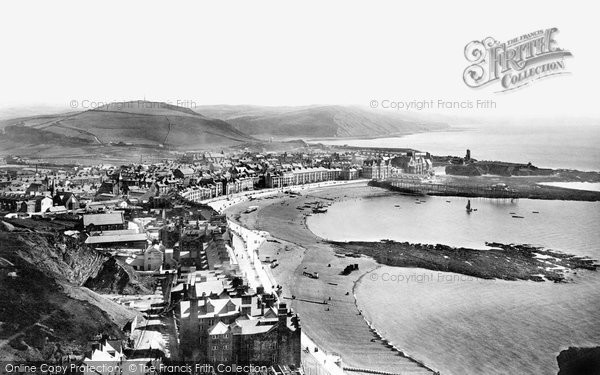 Photo of Aberystwyth, From Constitution Hill 1897
