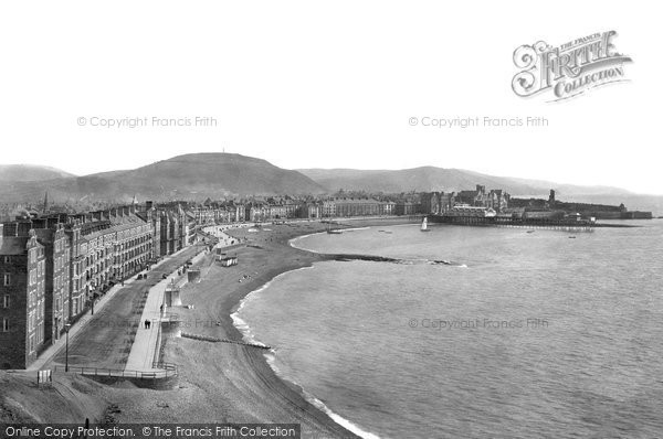 Photo of Aberystwyth, From Constitution Hill 1903