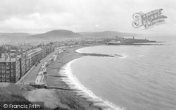 Aberystwyth, From Constitution Hill 1925