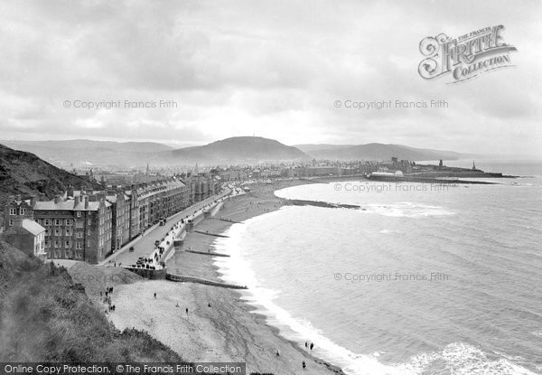 Photo of Aberystwyth, From Constitution Hill 1925