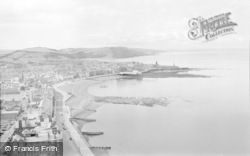 Aberystwyth, From Constitution Hill 1960
