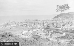 Aberystwyth, From Pen Dinas 1960