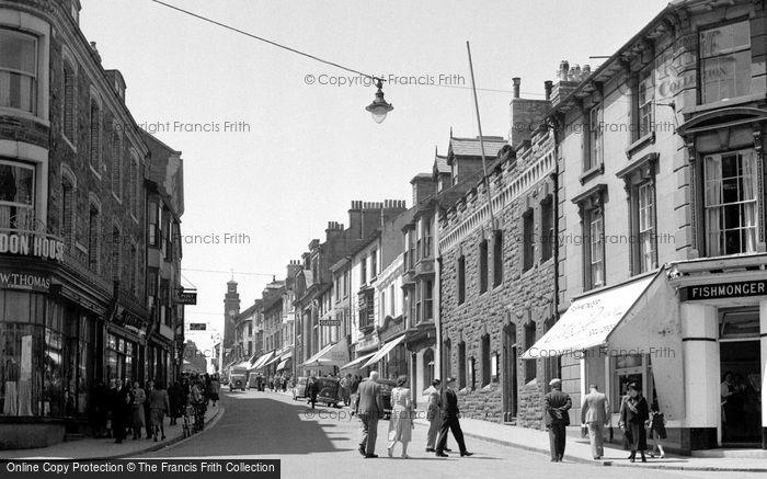 Photo of Aberystwyth, Great Darkgate Street 1949
